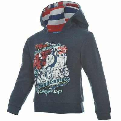 Thomas The Tank Engine:gorgeous 2015 Navy Hoody,2/3,3/4,5/6,7/8Yr,new With Tags