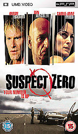 Sony PSP DVD / Movie / Film - Suspect Zero * New & Sealed *