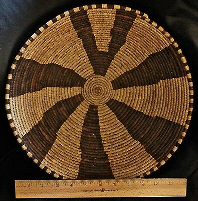 Finely woven African basket