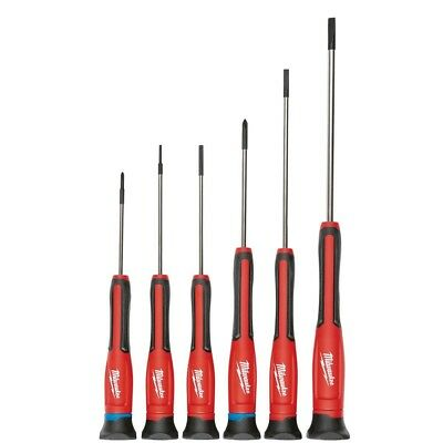 Milwaukee 48-22-2606 6-Piece Precision Screwdriver Set with Storage Case