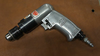 "Mac Tools Ad540 3/8"" Reversible Drill Keyless Chuck Used Tested Working Air"