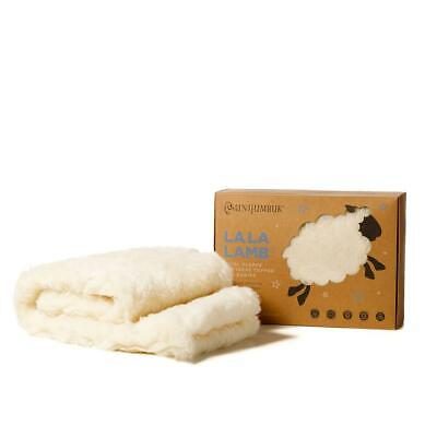 Mini Jumbuk La La Cot Wool Fleece Mattress Topper
