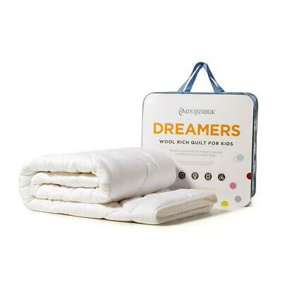 Mini Jumbuk Dreamers Kids Wool Rich Quilt - Double