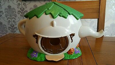 Disney Fairies Tinkerbell Teapot House - No Figures. Lovely Used Condition.