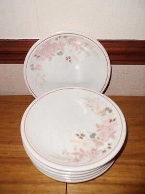 6 x Boots Hedge Rose Side Plates