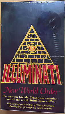 Illuminati - New World Order - Booster Box - SJG08100 1601 (Mint, Sealed)