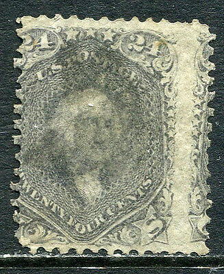 US Lot 2084 US Postage 1862 Scott A29 78b Gray 24 Cents no grill