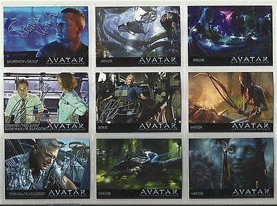 "2003 Avatar (Movie) ""Complete Set"" of 25 Promo Cards (1-25)"