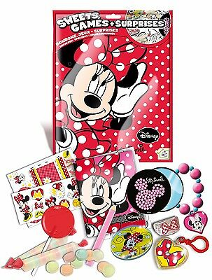 Disney Minnie Sweets, Games + Surprises Birthday Party Lucky Bag 29G