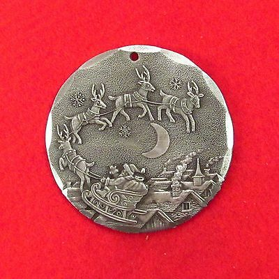 2002    Midnight Ride    Wendell August Forge   Aluminum  Christmas Ornament 7
