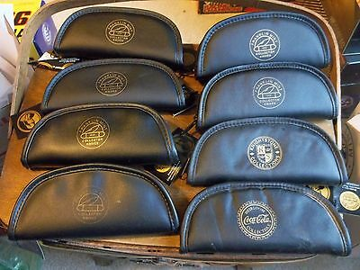 Franklin Mint Pocket Collector Knives bag pouch Lot of 8 EMPTY pouches only