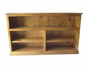Noosa Federation Lowline Bookcase (S-6) - 900(H) X 1500(W) - Assorted Colours