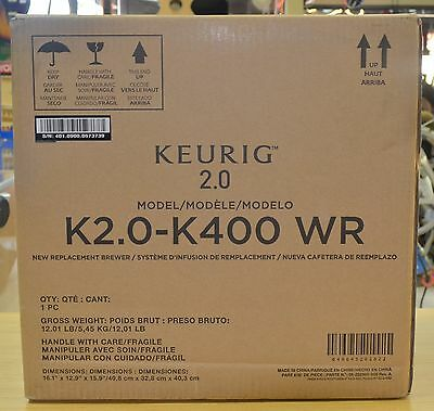 Brand New Keurig K400 2.0 Brewing System Fee Shipping!