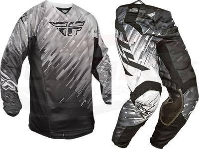Fly Racing Kinetic Glitch Gear Combo Youth Small/18 Waist Jersey & Pant Age 3-4