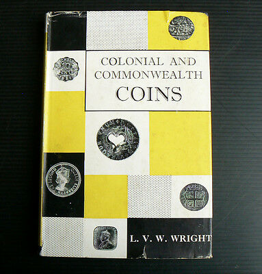 1959 book Colonial and Commonwealth Coins collecting numismatics Australian Fiji