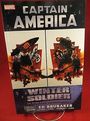 CAPTAIN AMERICA WINTER SOLDIER Ultimate Collection TP TPB $24.99srp Brubaker NEW