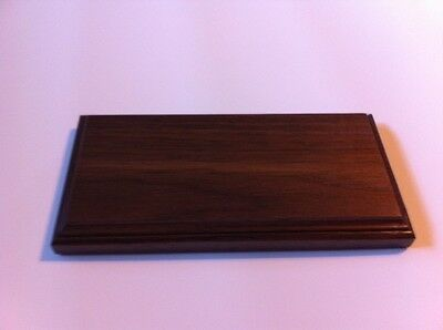 Solid Wood Base for Morse Code/Telegraph Key