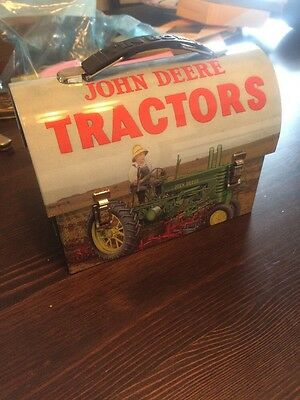 John Deere Tin Lunchbox