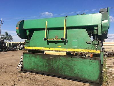 CYRIL BATH PRESS BRAKE 12' x 150 TON MODEL 150-10