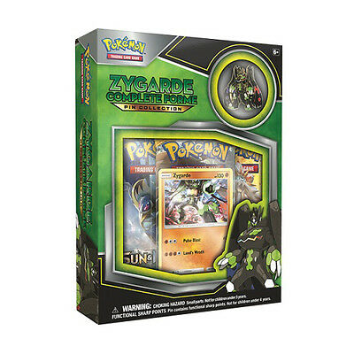 Pokemon TCG Zygarde Complete Forme Pin Box