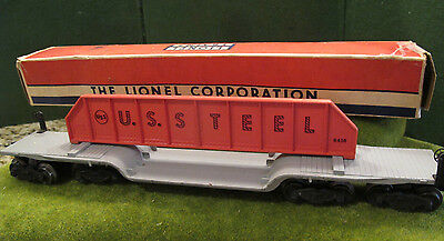 Lionel Postwar 6418 Machinery Car & Original Box