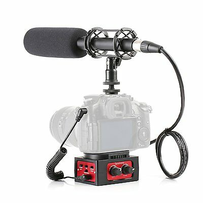 "Movo DSLR Video Audio Kit - 11"" XLR Supercardioid Shotgun Microphone & 2CH Mixer"