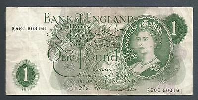 Bank of England - 1 Pound - Forde
