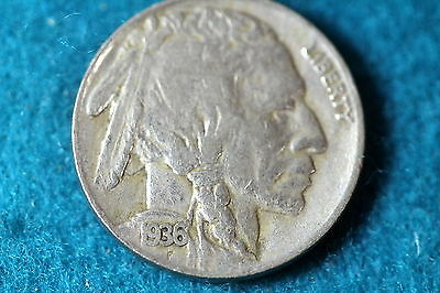 ESTATE FIND 1936-S Buffalo Nickel!! #F5027