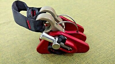 Rock Exotica DOUBLE MICROCENDER  Arborist industrial work highrise rigging NEW