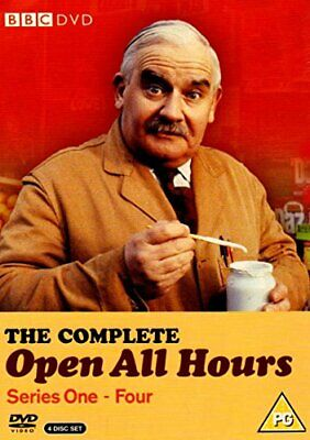 The Complete Open All Hours - Series One-Four [1976] - DVD  WKVG The Cheap Fast