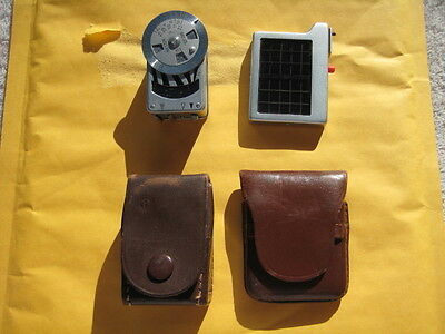 weston metrophot leica camera light meter for rangefinder cameras with cases