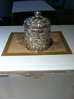 Sterling Silver Bailey Banks and Biddle Tea Caddy, Canister