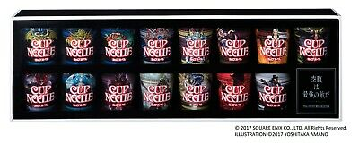 Final Fantasy 30th Boss Collection Nissin Cup Noodle Special Limited edtion set