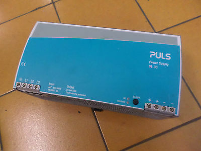 PULS POWER SUPPLY - SL30.300 -  30amps at 24DC  - 3 Phase 400-500 Input - TESTED