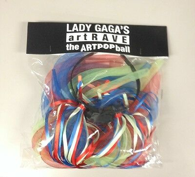 Lady Gaga Art Rave Artpop Ball Headband - Lights Up! Brand new!