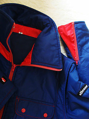 JACKET vintage 70's ELLESSE TG.52  circa M/L made in Italy  RARE