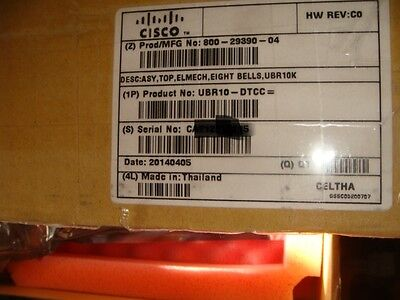Cisco NEW UBR10-DTCC DOCSIS Timing, Communication, and Control Card + DTI Client