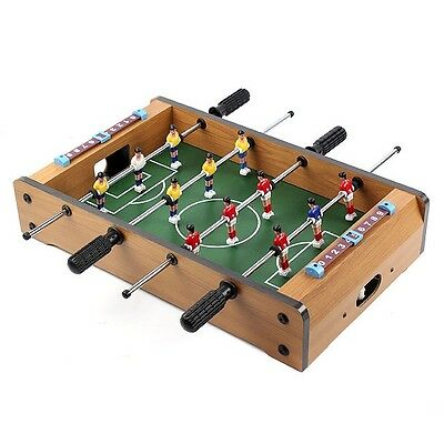 Table Soccer Game Toy Football Hobby Fun Playing Indoor Foosball Arcade Gam