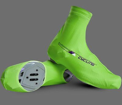 1 Pair Bicycle Windproof Shoe Covers  Cycling Zippered Overshoes LARGE 41-43