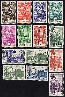 Morocco. 1947 -1949 Views of the City. MH
