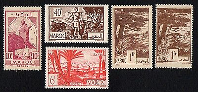 Morocco.  1945 Local Motives. MH