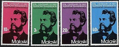 Malawi stamps. 1976 The 100th Anniversary of the Telephone. MNH