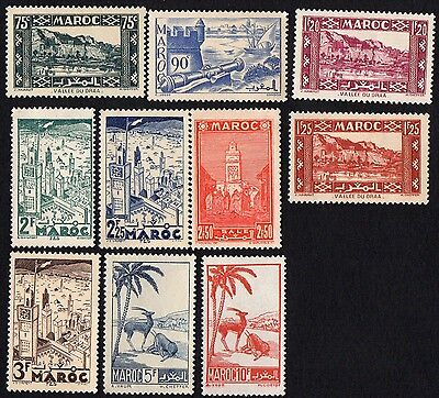 Morocco. 1939 Local Motives. Higher Values. MH