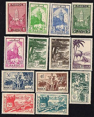 Morocco. 1939 Local Motives. MH