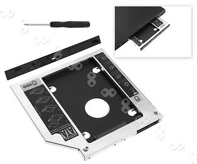 SATA 2nd HDD SSD Hard Drive Caddy for Laptops 9.5mm Optical Hard Drive Reliable