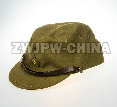 WW2 WWII Japan Army Military Officer Hat Japanese Cap Woolen Cloth