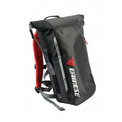 Dainese D-Elements Backpack Motorcycle Motorbike Ruck Sack Bag Luggage Black J&s