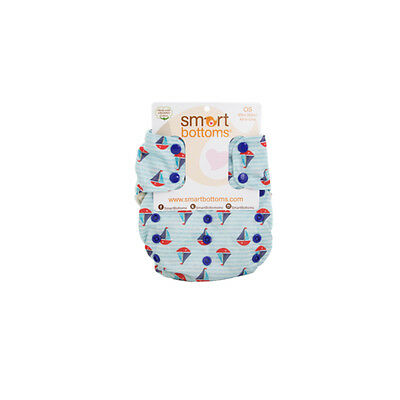NEW Smart Bottoms 3.1 Organic, AIO, All in One DIAPER, SUMMER SAILS exclusive