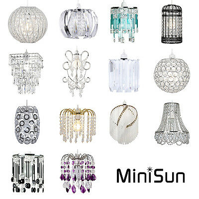 MiniSun Easy Fit Ceiling Light Shade Lamp Shades Pendant Chandelier  Lightshades