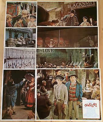 Oliver 1968 Complete Original US Lobby Card Set Ron Moody Oliver Reed